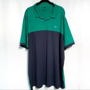 Nike Dri-Fit Golf Polo Shirt Size XXL